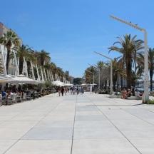 Riva, Split, Croatia